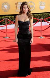 Marien Longdress menounos in black dress at 18th annual screen