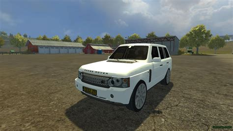 land rover mod 2009 range rover supercharged 187 gamesmods net fs17 cnc