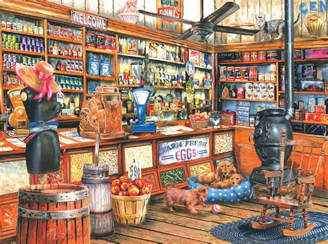 back in the good old days jigsaw puzzle puzzlewarehouse com