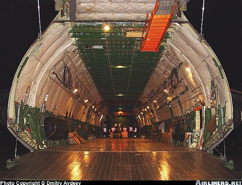 Antonov Interior by Antonov 225 Interior