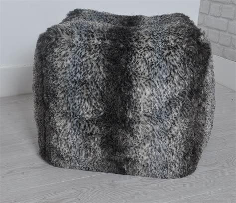 leopard skin bean bag luxurious faux fur bean bag leopard design cube supremely