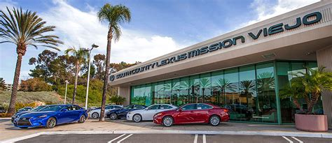 south county lexus south county lexus at mission viejo