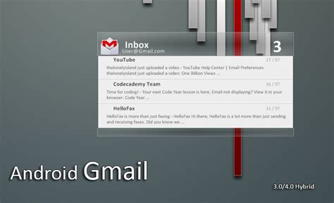 gmail themes and skins download android 4 0 gmail v1 5 by kredoc on deviantart