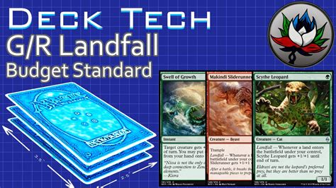 modern budget deck g r landfall budget aggro standard deck tech battle