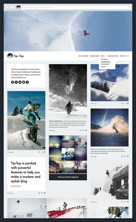 instagram layout tumblr 17 best images about tumblr themes on pinterest posts