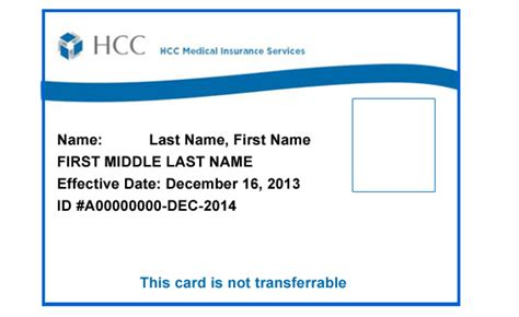 health insurance cards templates visitorguard insurance id card
