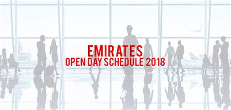 cabin crew open day emirates open days schedule february 2019 cabin crew