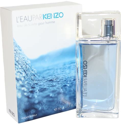 l eau par kenzo pour homme 1 7 oz edt spray new in a box by kenzo ebay