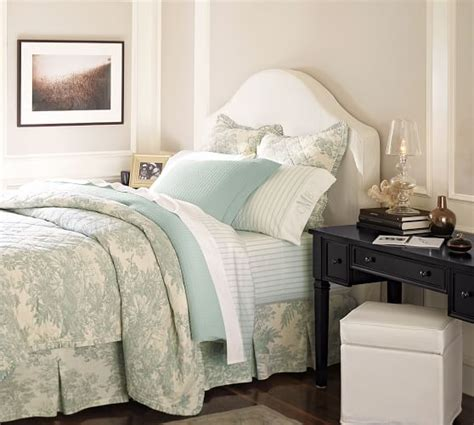 pottery barn bedroom colors matine toile quilt sham pottery barn