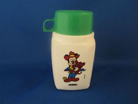 Thermos Disney disney disney thermos now and then antiques