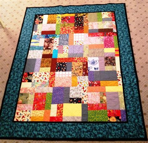 Scrap Quilt Patterns For Beginners by Easy Scrap Quilt By Quot Sew 4 Quot By Pam Yeomans Craftsy