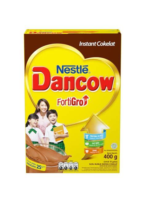 Dancow Coklat Bubuk Dancow Bubuk New Fraq Coklat Box 400g Klikindomaret