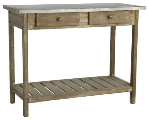 Sideboards And Buffet Tables Rustic Two Drawer Console Table Traditional Buffets