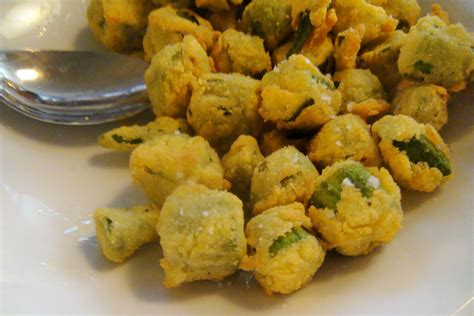 fried okra recipe dishmaps