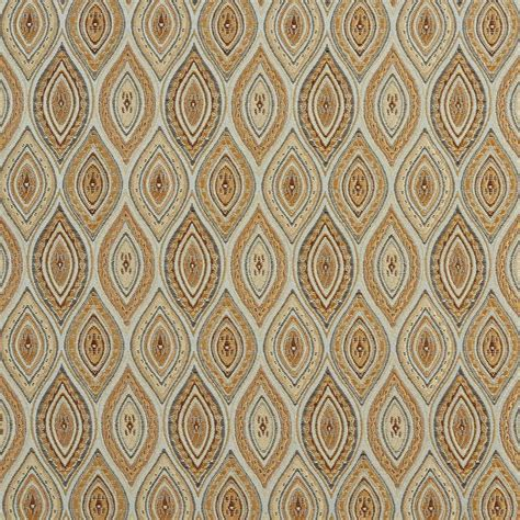 Upholstery Fabric Kansas City by A0015a Light Blue Gold Brown And Ivory Brocade Upholstery Fabric By The Yard