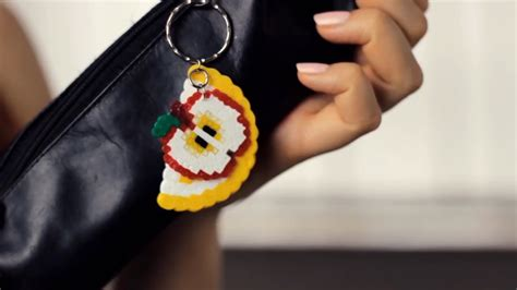 how to make a perler bead keychain how to make perler bead keychains 10 steps with pictures