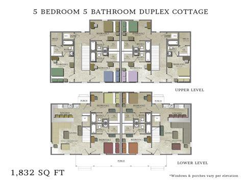 1 Floor Duplex Plans - duplex house plans 5 bedrooms 3 bedroom duplex floor plans