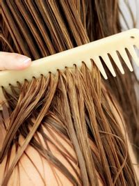 pictures : how to air dry hair and make it look good.
