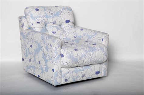 Blue And White Armchair by Blue And White Floral Upholstered Armchair For Sale At 1stdibs