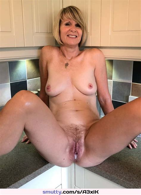 Mature Cougar Milf Hairy Hairypussy Creampie Cum Smiling