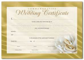 Wedding certificate silvio scappaticci renewal of wedding vows 50th