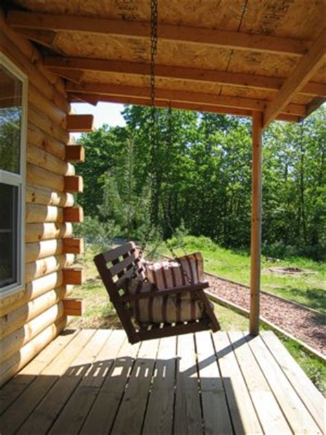 log cabin front porch swing log cabin love pinterest hocking hills log cabin romantic quiet relaxing and