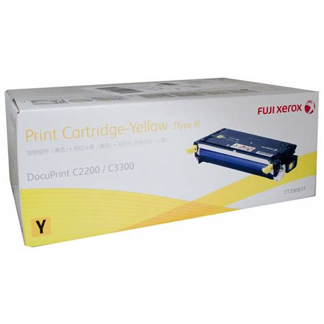 Toner Fuji Xerox Dp C3300 2200 Ct350673 Original fuji xerox c3300 cartridges cartridgesdirect