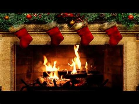 Yule Fireplace by Merry Fireplace With Crackling Sounds Hd