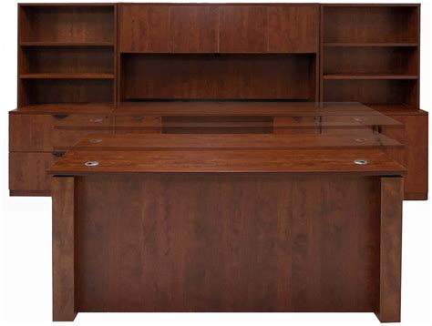 executive office desk adjustable height executive office desk in cherry