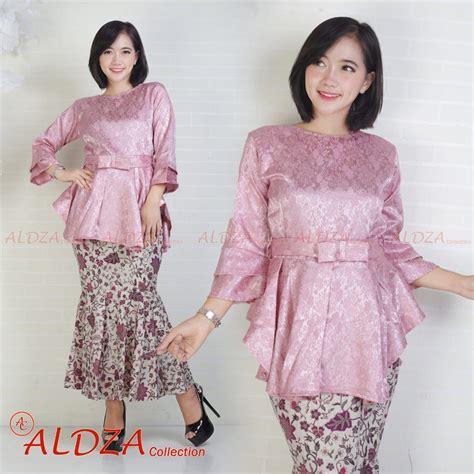 Nw 37 Setelan Kebaya Modern fitur setelan baju batik kebaya wanita fahsion