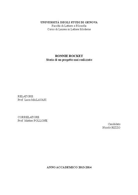 tesi lettere moderne universit 192 degli studi di genov afacolt 224 di lettere e
