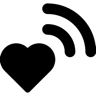 imagenes png wifi wifi signal on heart free vectors logos icons and