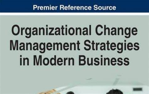 modern business management creating a built to change organization books book presentations readings series organization aubg
