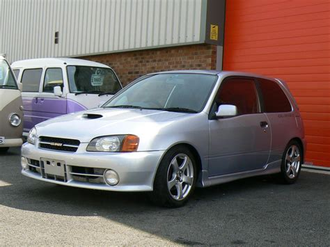 Toyota Starlet Glanza For Sale Uk Used 1997 Toyota Starlet Glanza V Glanza V Turbo For Sale