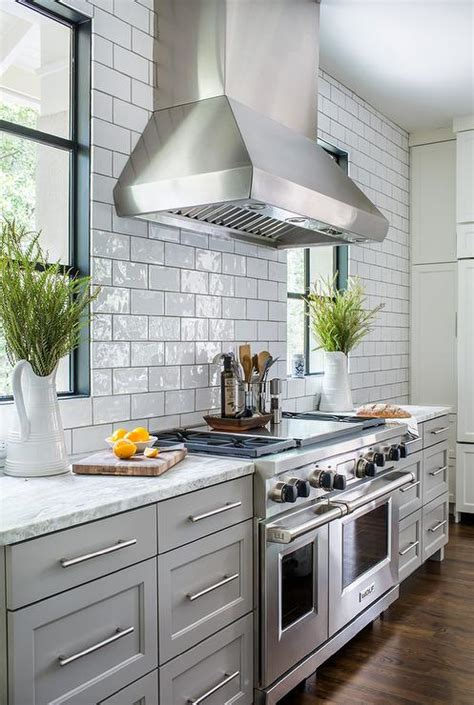 Light Gray Cabinets Kitchen Light Gray Kitchen Cabinets With White And Gray Granite Counters Transitional Kitchen