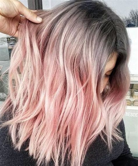 Pink Hair Brown Shadow Root Chocolate Strawberry Ombre Of Chocolate Strawberry Hair Color Deborahpraha Ombre Pink Hair Color With Roots Pinkhair Hair Color Ideas