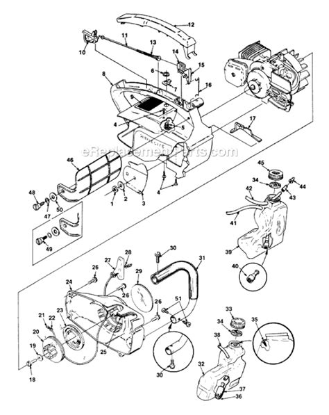 homelite 2 parts diagram homelite 2 chainsaw parts pictures to pin on