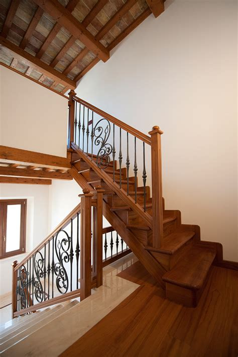 ringhiera in legno ringhiera in legno e ferro 1 vittori scalevittori scale