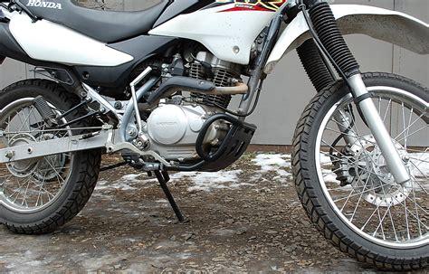 Motorrad Honda Xr 125 L by Sturzb 252 Gel F 252 R Honda Xr125l Xr150