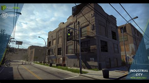 Free Home Blueprints by Industrial City By Polypixel In Environments Ue4 Marketplace