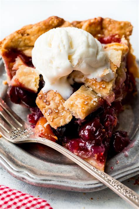 Handmade Pies - cherry pie sallys baking addiction