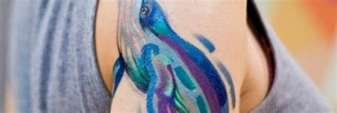 watercolor tattoos dolphin tattooeasily get cool design ideas