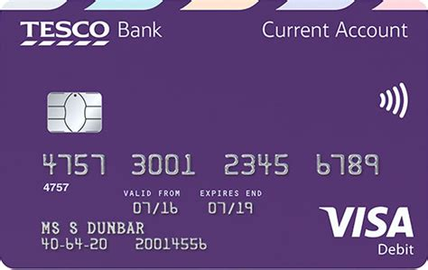 bank account in debit current account rewards collect tesco clubcard points