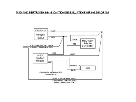 omc pertronix electronic ignition module schematic wiring