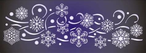 snowflake stencils for windows snowflake stencils for windows snowflake border ideal for use with frosting for window