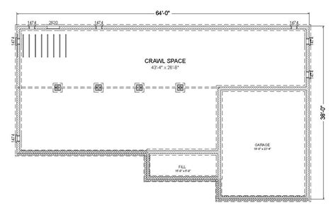 crawl space house plans crawl space house plans home design