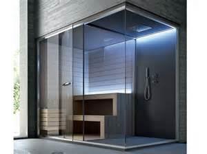 dusche mit sauna ethos sauna mit dusche by gruppo geromin design franco bertoli