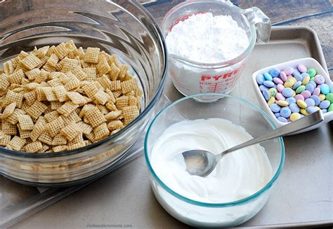 easter puppy chow easter puppy chow recipe