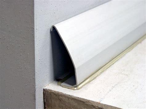 basement water drainage the drytrak baseboard basement drain system