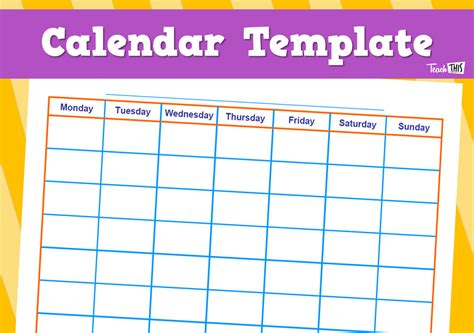 printable calendar resources 2u calendar template printable classroom displays teacher